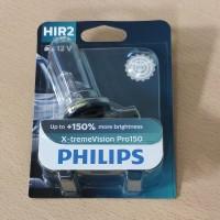 Holog.lemp.12v 55w 9012XVP H1R2 PHILIPS +150 % BLISTER 1 VNT