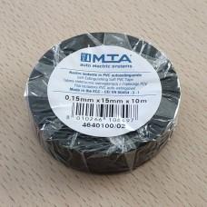Izoliacija PVC 0,15mm 15mm x 10m.juoda MTA MAŽA