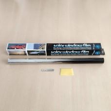 Tamsinimo plėvelė BLACK/SILVER 50cm x 3m