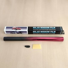 Tamsinimo plėvelė BLACK/RED SILVER 50CM x3M